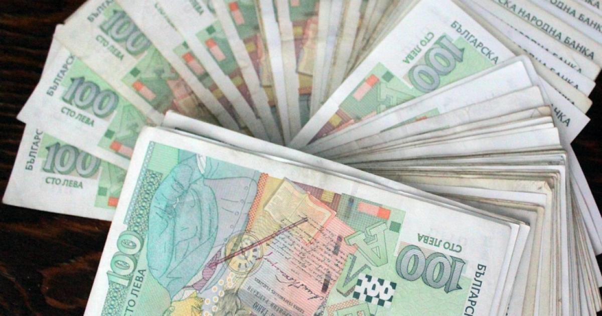 Парите в обращение се увеличиха с 10% за година