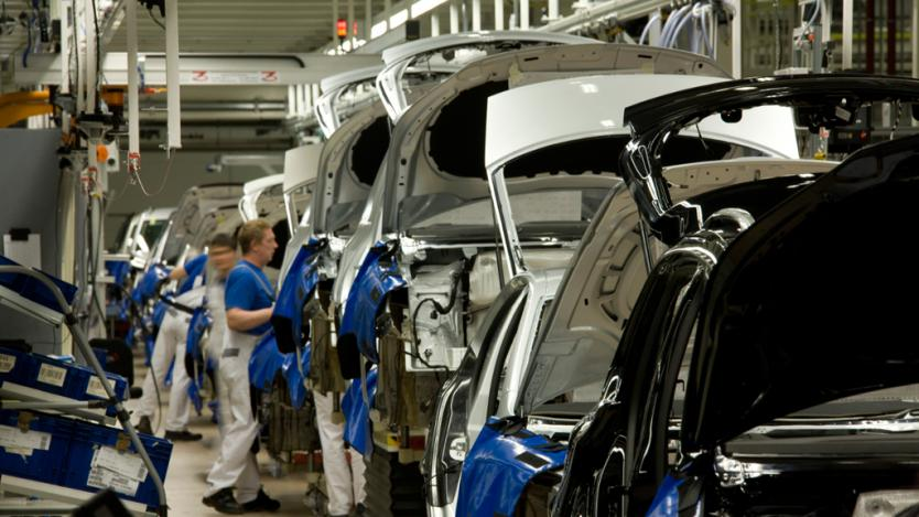 Производството на автомобили се измества от Западна Европа